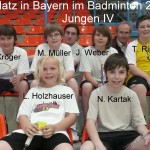 3. Platz in BayernJungen IV